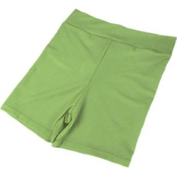 Women Stretch Spandex Gym Gym Skinny Mini Shorts Hot Pants 3XL Light green