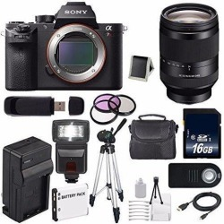 Sony Alpha a7R II Mirrorless Digital Camera (International Model ) + Sony FE 24-240mm f/3.5-6.3 OSS Lens + 72mm 3 Piece Filter Kit 6AVE Bundle 61