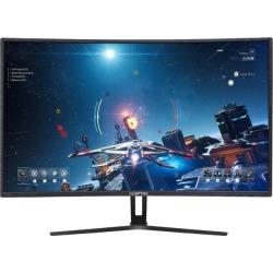 SCEPTRE C325B-185RD 32' (31.5' Viewable) Full HD 1920 x 1080 3ms (GTG) 185Hz 3 x HDMI, DisplayPort, AMD FreeSync Compatible Built-in Speakers.