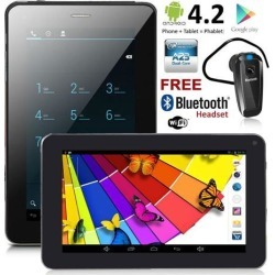 inDigi® NEW! 7' Android 4.2 JB Tablet PC w/ Wireless Phone Function & Google Play Store