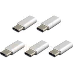 5X Micro USB F to USB Type-C M OTG Adapter for Phone ZTE Axon 7 Mini /Grand X/X3