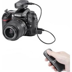 Neewer DSLR Camera Shutter Release 320ft/100m Wireless Remote Control 2.4G 16CH Transmitter Receiver for Canon