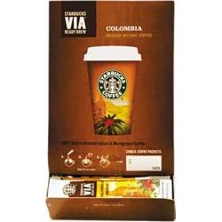 Starbucks VIA Ready Brew Coffee, 3/25oz, Colombia, 50/Box
