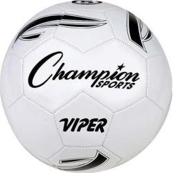 VIPER Soccer Ball, Size 5, White
