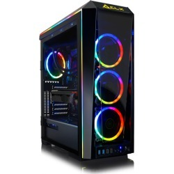 CLX SET VR-Ready Gaming Desktop w/ Intel Core i7 9700KF Processor, 32GB DDR4 Memory, NVIDIA GeForce RTX 2070 SUPER Graphics, 1 TB SSD, 4 TB HDD.