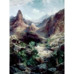 Posterazzi SAL900125847 Grand Canyon 1904 Thomas Moran 1837-1926 American Poster Print - 18 x 24 in.