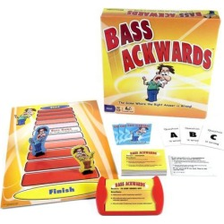 Bass Ackwards Board Game by Pressman Toy Co.