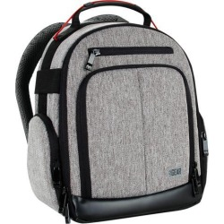 USA GEAR UBK DSLR Camera Backpack with Customizable Interior Storage, a Weather Resistant Bottom and Comfort Padded Back Support for Nikon D500.
