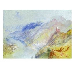 Posterazzi BALBAL75921LARGE The Castle of Trausnitz Overlooking Landshut C.1839 Poster Print by J.M.W. Turner - 36 x 24 in. - Large found on Bargain Bro Philippines from Newegg Canada for $86.13