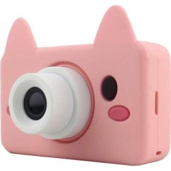8MP 2 Inch Children Camera Selfie Timer Kids Gift Toy for Girls Boys Pink