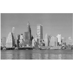 Posterazzi SAL25545405 Skyscrapers on the Waterfront Manhattan New York City New York USA Poster Print - 18 x 24 in.
