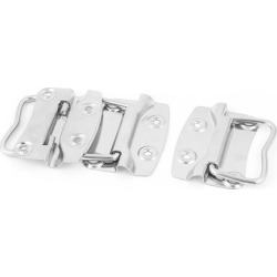 Unique Bargains Trunk Drawer Cupboard Toolbox Chest Metal Pull Handle Silver Tone 3Pcs found on Bargain Bro Philippines from Newegg Canada for $12.84