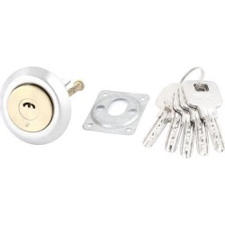 Gates Metal Key Locking Lock Cylinder Tapered Ned Set + 5 Keys found on Bargain Bro Philippines from Newegg Canada for $13.66