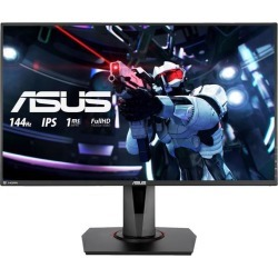 ASUS VG279Q 27' Full HD 1920 x 1080 1ms MPRT, 3ms(GTG) 144 Hz DVI, HDMI, DisplayPort FreeSync (AMD Adaptive Sync) Built-in Speakers Gaming.