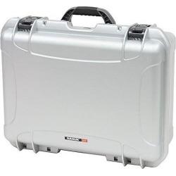 nanuk 9400005 940 waterproof hard case, empty, silver