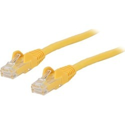 StarTech N6PATCH2YL StarTech.com Cat6 Patch Cable - 2 ft. - Yellow Ethernet Cable - Snagless RJ45 Cable - Ethernet Cord - Cat 6 Cable - 2 ft. found on Bargain Bro India from Newegg for $6.10