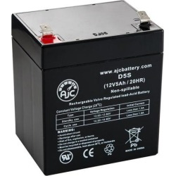 E-Scooter 24 Volt 100 Watt 12 V5Ah Electric Scooter Battery - This is an AJC Brand Replacement