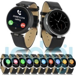 Sporty Bluetooth Smart Watch iPhone SIRI Built-in Heart Rate Monitor Pedometer