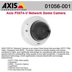 AXIS P3374-V Network Camera - Color