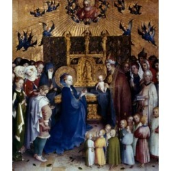 Posterazzi SAL9003469 Presentation of Christ in the Temple by Stephan Lochner 1400-1451 Poster Print - 18 x 24 in.