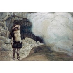 Posterazzi SAL9996 Cains Punishment James J. Tissot 1836-1902 French Jewish Museum New York Poster Print - 18 x 24 in.