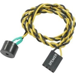 Unique Bargains Home Office Yellow Black Wire ATX Power Reset Switch Connector Cable 50cm Long found on Bargain Bro Philippines from Newegg Business for $4.25