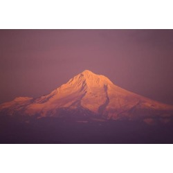 Posterazzi DPI1830319 Sunset Mount Hood Oregon United States of America Poster Print by Craig Tuttle, 17 x 11