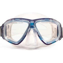 5.5' Newport Blue and Clear Pro Mask Swimming Pool Accessory for Adults