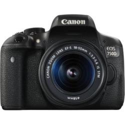 New CANON EOS 750D DSLR Camera + EF-S 18-55mm Lens
