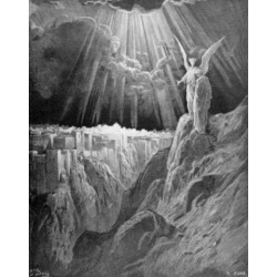 Posterazzi SAL99587147 The Heavenly Jerusalem by Gustave Dore 1832-1883 Poster Print - 18 x 24 in.