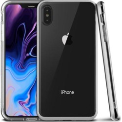 Vrs Design Crystal Bumper Clear Case Steel Silver for iPhone XS Max Cases