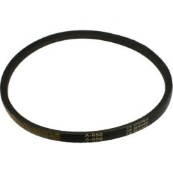 Unique Bargains Industry Lawn Mower Rubber A Type V Belt Inner Girth 650mm 25 3/5'