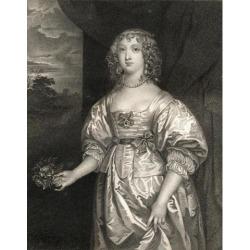 Posterazzi DPI1858551 Elizabeth Cecil Countess of Devonshire C.1619-1689 Wife of William Cavendish Poster Print, 13 x 17