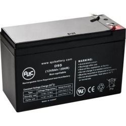 Compaq UPS T1000 12V 9Ah UPS Battery - This is an AJC Brand Replacement