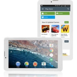 Indigi 7-inch HD Dual-Core TabletPC Android Marshmallow Wi-Fi, Google Play Store, YouTube, FaceBook, Instagram, Games Bluetooth(White) .