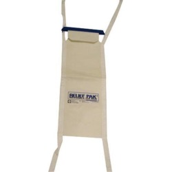 Fabrication Enterprises 11-1243 Relief Pak Insulated Ice Bag, Tie Strings, Small - 5 x 13 in.