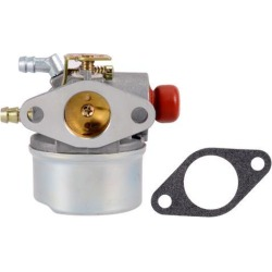 640025 Carburetor Carb for Tecumseh 640025A/B/C 640014 640004 OHH55 OHH60 OHH65 OHH 55 60 65 Lawn Mowers w Gasket