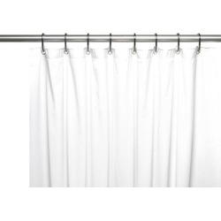 Carnation Home Fashions 8-Gauge Vinyl Shower Curtain Liner, X-Long 72' x 84'.