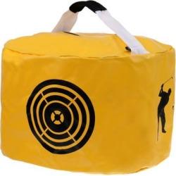 Waterproof Golf Smash Impact Strike Bag Swing Blow Hitting Bag Training Aid Yellow