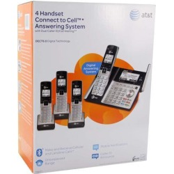 AT & T TL96423 DECT 6.0 4-Handset Cordless Phone Answering System with Caller ID/Call Waiting