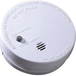 Ionization Smoke Alarm 9V Battery Detector Fire Alert Sensor Safety Powered
