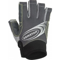 RONSTAN STICKY RACE GLOVE CUT FINGER LARGE GREY RF4880L