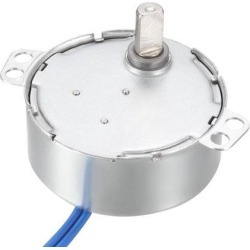Metal Gear Synchronous Synchron Motor AC 100-127V 45-54RPM 50-60Hz CCW/CW 4W for Microwave Oven