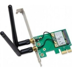 IO Crest SY-PEX23063 Wireless 802.11 N150 & Bluetooth 2.1 PCIe X1 Card, Dark. found on Bargain Bro India from Newegg Business for $39.13