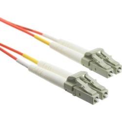 Fiber Optic Cable, LC / LC, Multimode, Duplex, 50/125, 25 meter (82 foot)