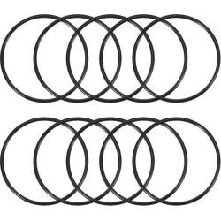O-Rings Nitrile Rubber 90mm x 100mm x 5mm Seal Rings Sealing Gasket Black 10pcs