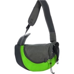 Pet Dog Carrier Backpack Bag Puppy Cat Carrier Holder Shoulder Adjustable for Outdoor Travel Picnic Shopping S Size Green found on Bargain Bro Philippines from Newegg Canada for $17.92