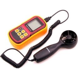 Digital LCD GM8901 Anemometer Wind Speed Gauge Temperature Meter Tester Measuring thermometer