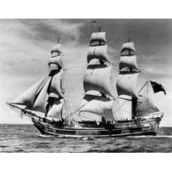 Posterazzi SAL2558742 Tall Ship Sailing in the Sea Poster Print - 18 x 24 in.