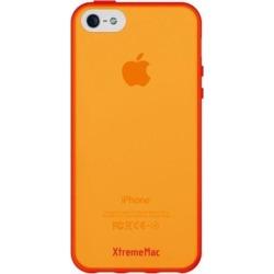 XtremeMac IPP-MAN-73 Microshield Accent Case for iPhone 5 - Cherry Bomb Red/Tangerine Orange